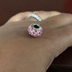 Kay Jewelers Jewelry - Pink cubic zirconia charm